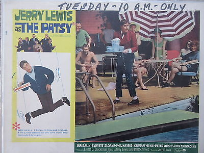Old Original 1964 Movie Lobby Card Jerry Lewis as the Patsy
