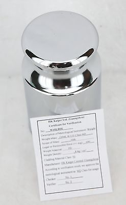 10 LB Cylindrical Test / Calibration Weight Scratch and Dent