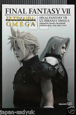 JAPAN Final Fantasy VII Ultimania Omega Square enix book