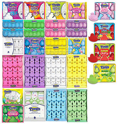 PEEPS* Marshmallow Candy EASTER Gluten-Free SUGARY Exp. 10/17-9/19 *YOU CHOOSE*