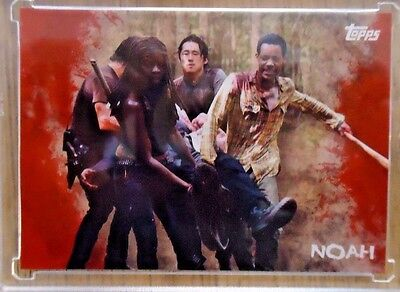 2016 Topps The Walking Dead Survival 1/1 Blank Back. Noah
