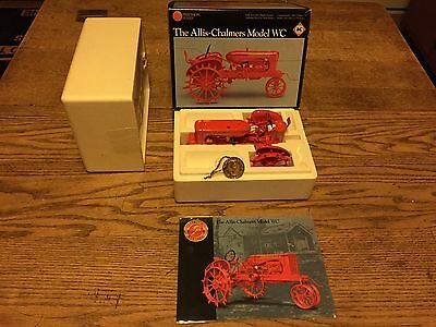 """1/16 """"the Allis-Chalmers Model Wc"""" Precision Tractor By Ertl Mib!"""
