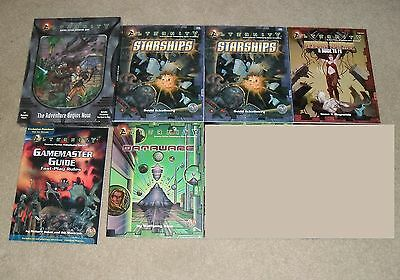 6 TSR Alternity Science Fiction Roleplaying Game Guide Handbook Accessory Lot++