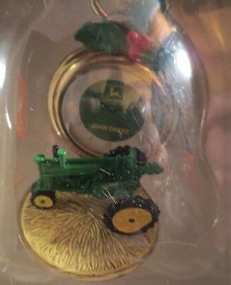Enesco John Deere Just In Time For Christmas Ornament MIB NRFB #3