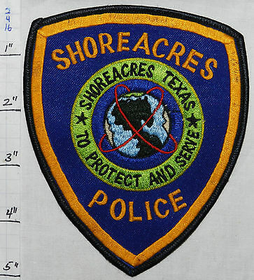 Texas, Shoreacres Police Dept Patch