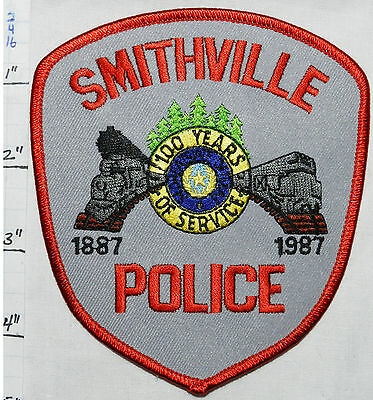 Texas, Smithville Police Dept Patch