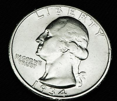 1934-d Washington Quarter.  High Grade   (INV.A)