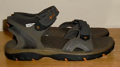Men's Gray COLUMBIA Sandals Size 8 M GREAT Condition