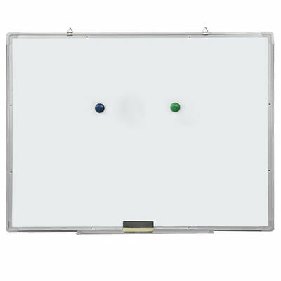 "35""x23"" Magnetic Writing Whiteboard Single Side Dry Erase Board Eraser Office"