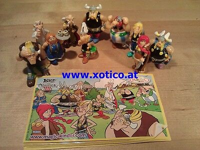 Asterix bei den Wickingern France, complete set with all bpz.