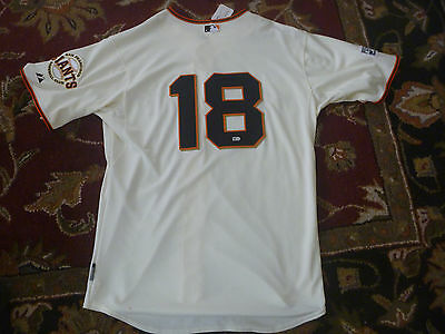 Matt Cain Game Used Sf Giants Majestic Jersey 2014 Coa $500 *he Wore In Playoffs