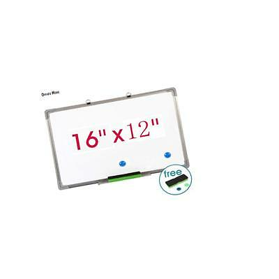 """Single Side Magnetic 16""""x12"""" Writing Whiteboard Office Universal Dry Erase Board"""