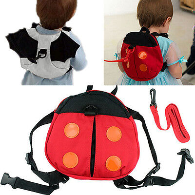 Baby Kid Toddler Keeper Walking Safety Harness Backpack Leash Strap Bag Charm