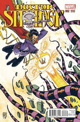 DOCTOR STRANGE #2 SKOTTIE YOUNG VARIANT (Marvel 2015 1st Print) COMIC