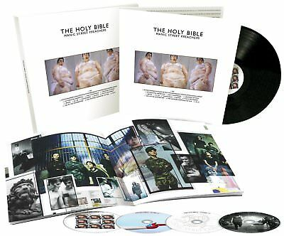 Manic Street Preachers The Holy Bible Lp Vinyl 33Rpm And Cd New Box Set