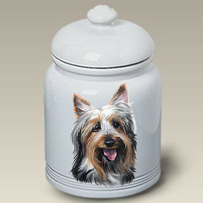 Ceramic Treat Cookie Jar - Silky Terrier (LP) 45102