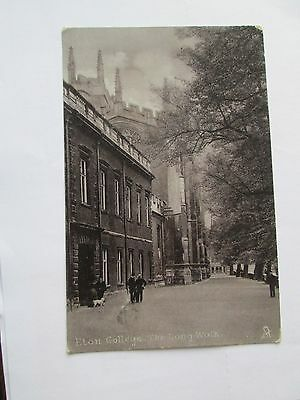 Postcard of Eton College, The Long Walk (Posted Tuck'e Silverette)