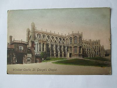 Postcard of Windsor Castle, St George's Chapel (unposted Frith's)