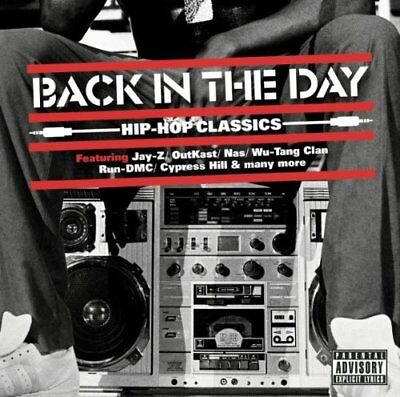 Various Back In The Day Hip Hop Classics Cd Rap Hip Hop 2011 Brand New