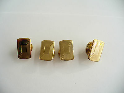 """Vintage Art Deco Snap Cufflinks The """"Regnum"""" Made In England"""