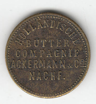 Germany Holbutko Butter Token C1902    95R            By Coinmountain