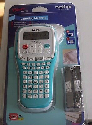 BROTHER PT-H101TB LABEL PRINTER With 2 x Ink Tapes