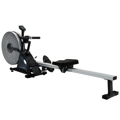 Charles Bentley Deluxe High Specification Rowing Machine Home Gym Workout Rower