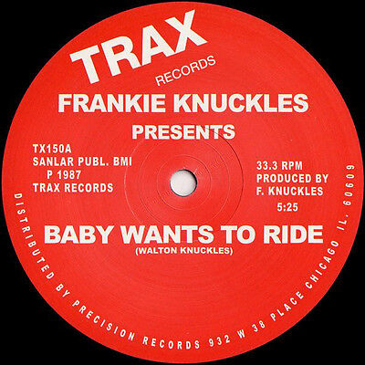 "Frankie Knuckles "" Baby Wants To Ride "" / "" Your Love "" New U.s.12 Trax Records"