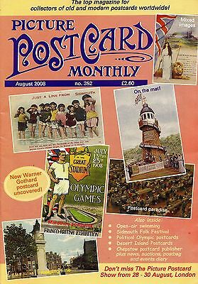 Picture Postcard Monthly - Issue 352 August 2008