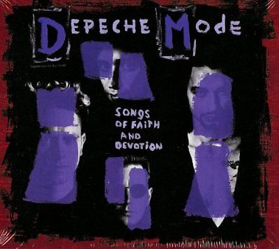 Depeche Mode Songs Of Faith And Devotion Collectors Ed Cd & Dvd 2013 New