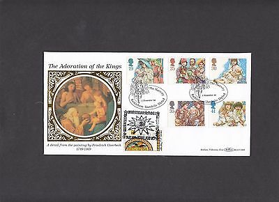 1994 Christmas  Benham BLCS Official First Day Cover double H/S Israel. 1 of 250