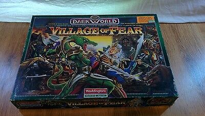Dark World: Village of Fear (Waddingtons, 1993) Role-Play Board Game