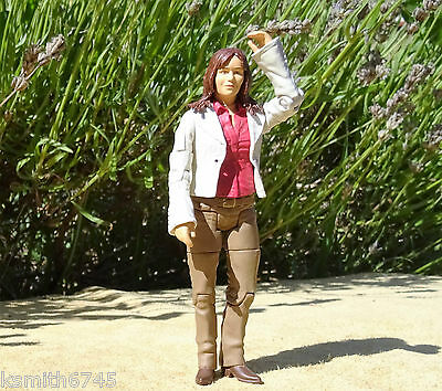 BBC Primeval character CLAUDIA BROWN plastic toy human action figure model woman