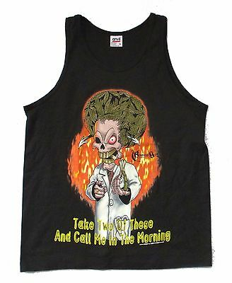 Cypress Hill 1998 Two Joints Tour Tank Top Shirt Med 1998 NOS Vintage Giant