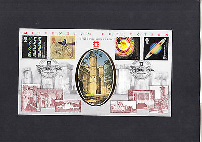 1999 Scientists Tale English Heritage Benham Official First Day Cover