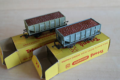 Tri-ang TT - T274 Ore Wagon x 2 With Iron Ore Loads
