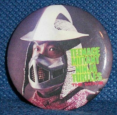 MB227 Vtg Old Teenage Mutant Ninja Turtles Pin PinBack Button