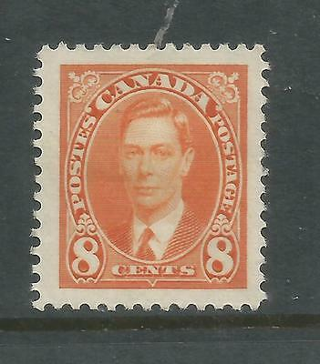 Arcade 99p Canada 1937 George VI 8 Cent Mint Issue
