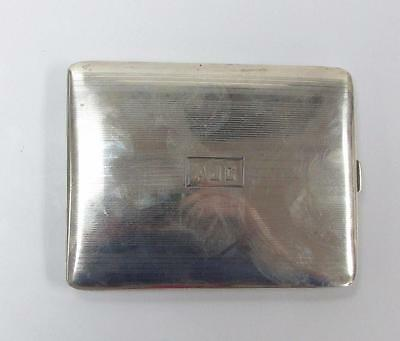 Vintage Sterling Silver Cigarette Case / Compact ~ 93.0 grams ~ 14-F4824