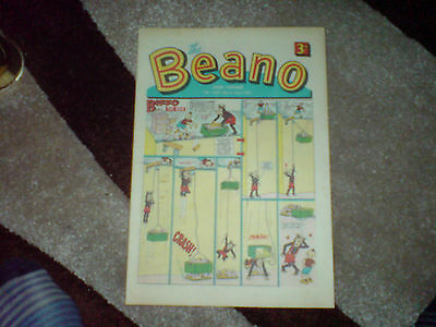 beano comic # 1337 - march 2nd 1968 - vg