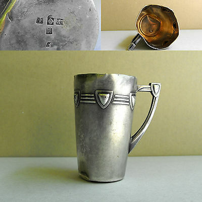 Antique Silver Plated Art Nouveau style by WMF 1900's made in Germany cup