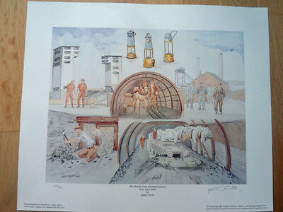 COLLIERY MINING PRINT ## NOW AND THEN ## by JAMES NORTH LIMITED to 650 signed
