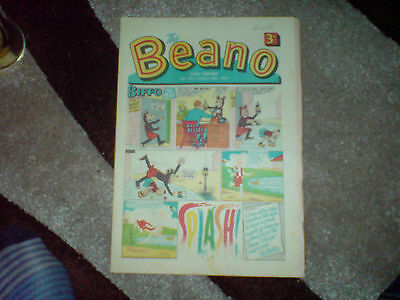 beano comic # 1331 - jan 20th 1968 - vg+(with pink flyer)
