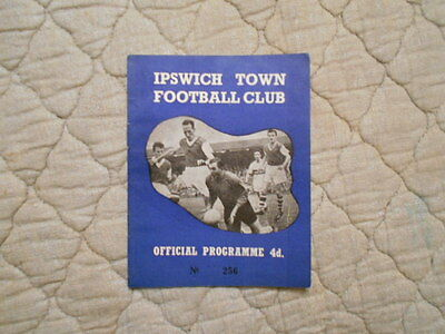 Ipswich V Lincoln Second Division Match Programme November 1960
