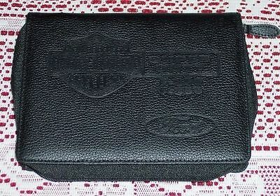 New Ford Harley Davidson F250 F350 Superduty Leather Owners Manual Cover Case
