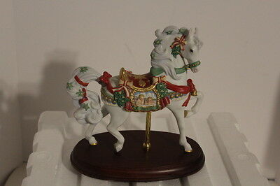 Lenox Limited Edition -  1997 Christmas  Noel Carousel Horse