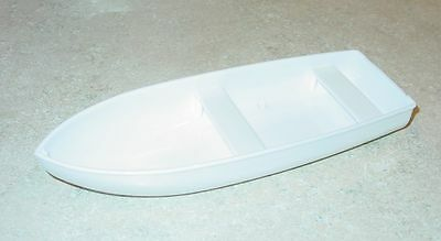 Tonka White Plastic Rowboat Accessory Replacement Toy Part