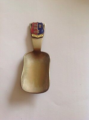 Vintage Chester Tea Caddy Spoon