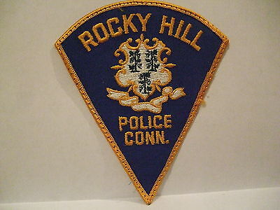 police patch  ROCKY HILL POLICE CONNECTICUT