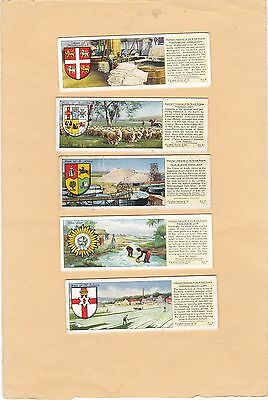 Typhoo Tea Part Set L20/25.important Industries Of British.empire.issued 1938